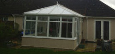 testimonial image of diy sash window conservatory