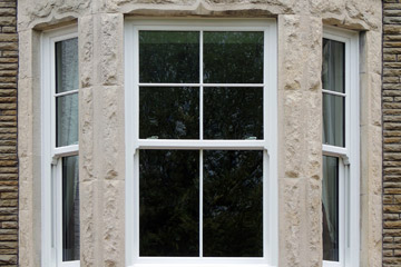 sash window close up