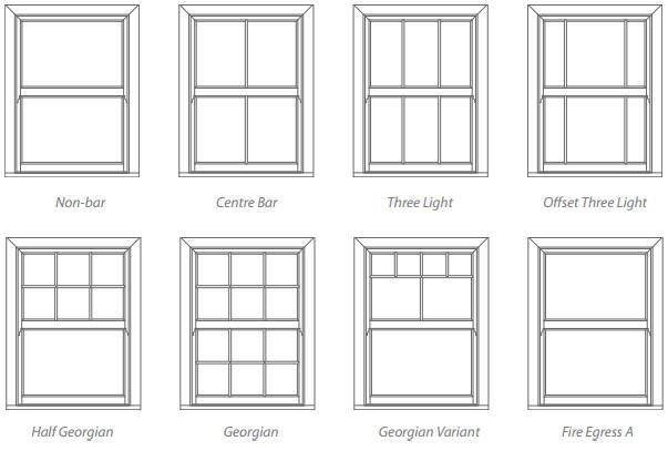 Sash windows styles uk upvc sliding sash window styles for Replacement window design ideas
