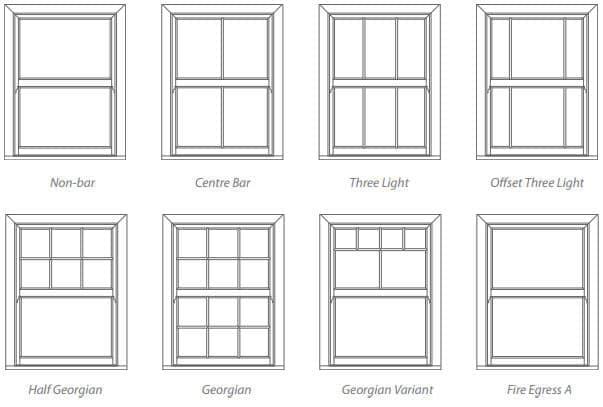 upvc Sash Window Style 1